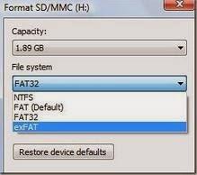 Cara Mengubah Flashdisk & Harddisk Eksternal Ke exFAT