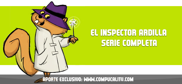 El Inspector Ardilla Serie Completa Español Latino
