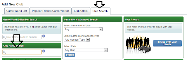 Club Search Soccer Manager