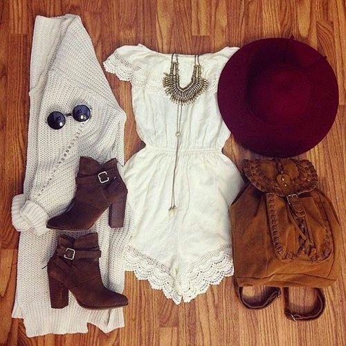 White Outfit Set