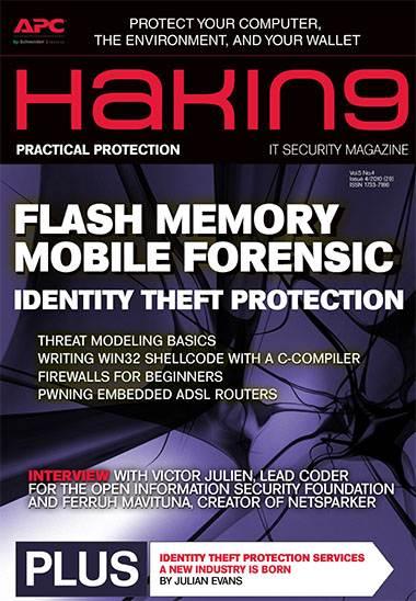 Hakin9 Magazine Issue April 2010