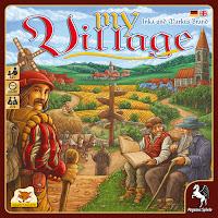 My Village gioco da tavolo