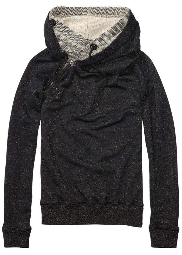 Stylish Navy Blue Comfy Sports Hoodie for Winter and Autumn
