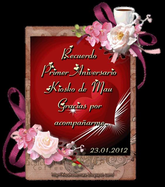 Premios y regalos de cecilia primer aniversario del - Regalos de primer aniversario ...