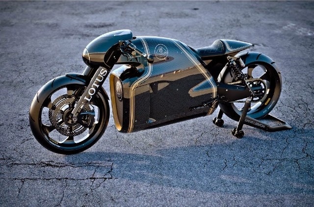 Lotus Motorcycle C 01 Pictures