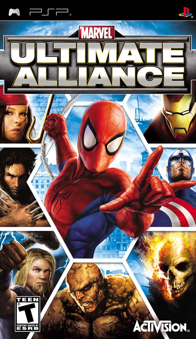 Descargar Marvel Ultimate Alliance psp español 1 link