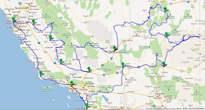 Notre Roadtrip 2012 Aux Usa Programme De Notre Road Trip