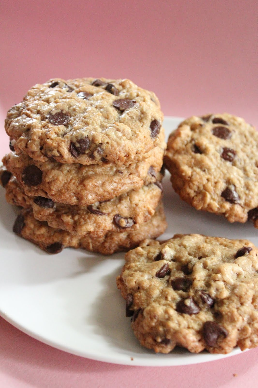 ... Ultimate healthier oatmeal and chocolate chip cookies are awesome