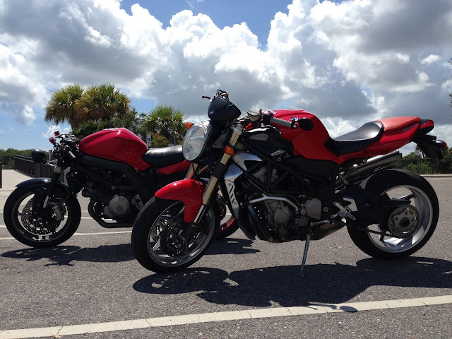 The MV Agusta Brutale is fixed and ready to ride!