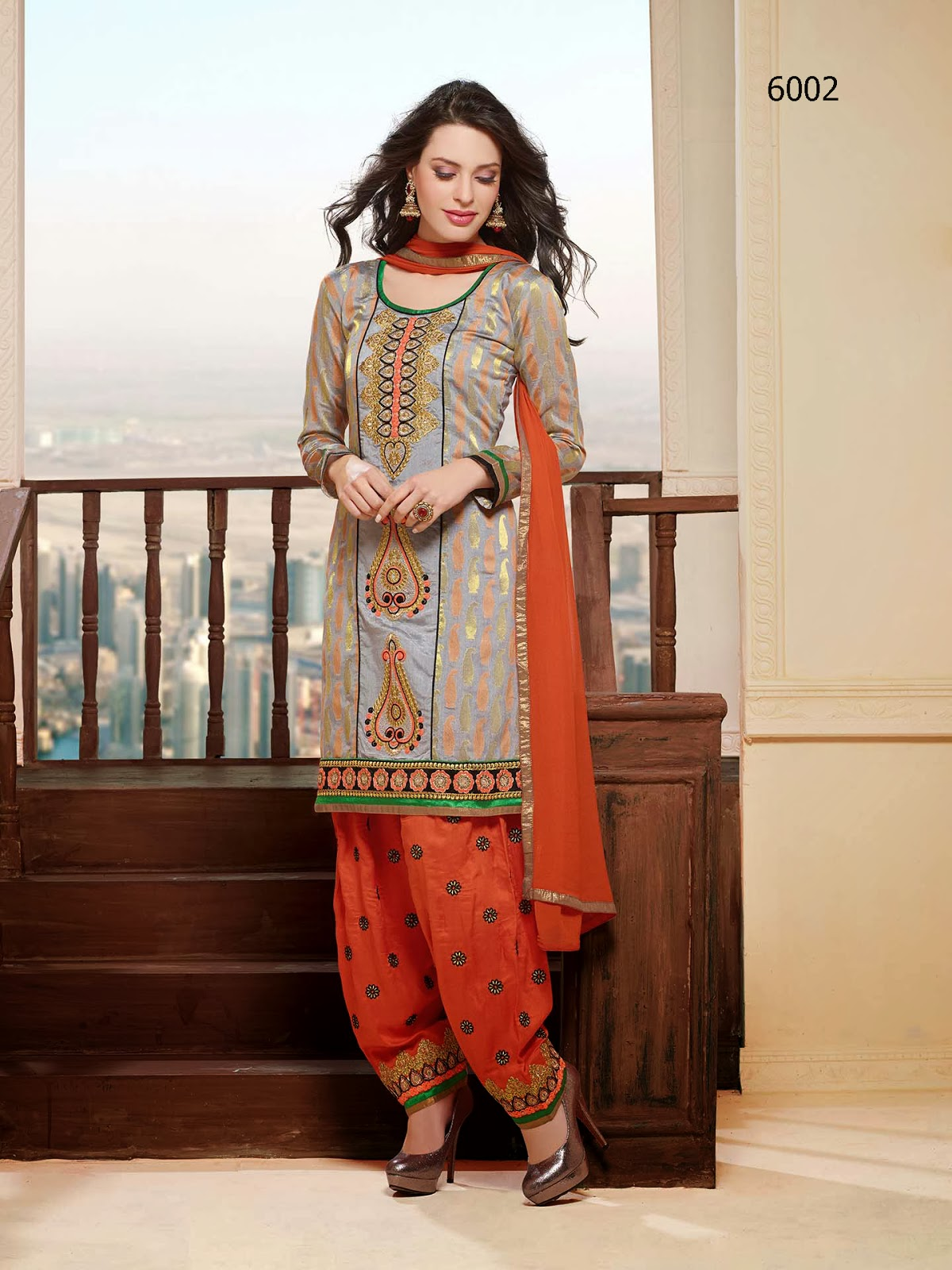 Most Wonderful Punjabi Salwar Kameez | Buy Fancy Cotton Punjabi