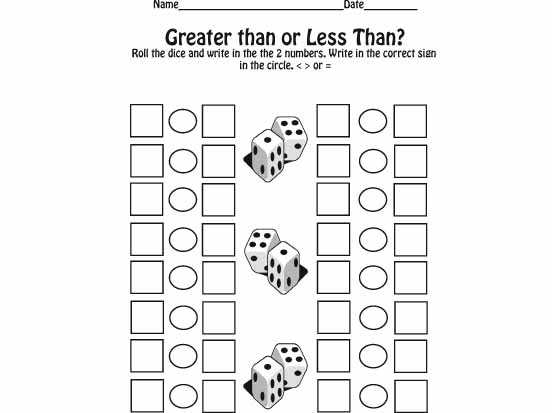 Worksheet 612792 Math Less Than Greater Than Worksheets – Greater Than Less Than Worksheet Kindergarten