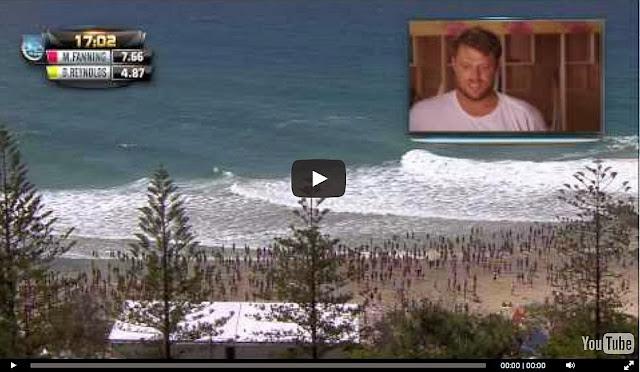 mick fanning quiksilver pro gold coast 2014 ronda 3 video