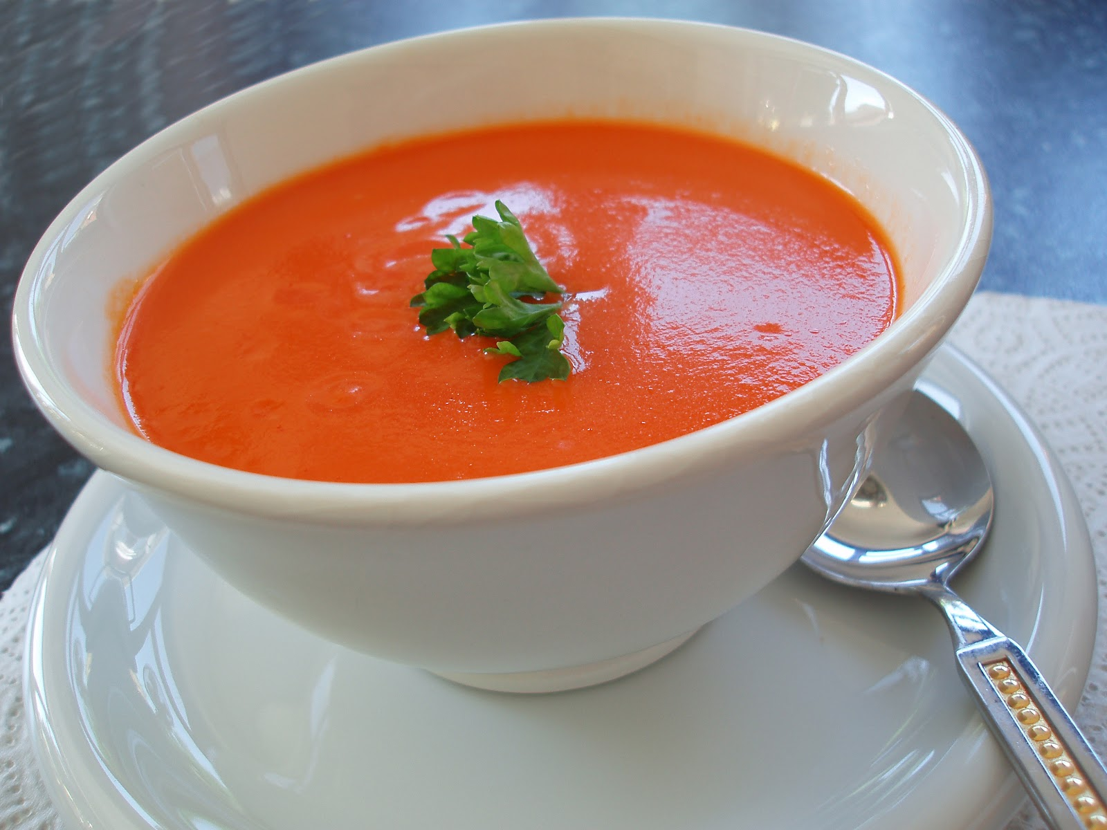 Easy Healthy Appetizer Recipe: Tomato Soup (with images, tweet ...