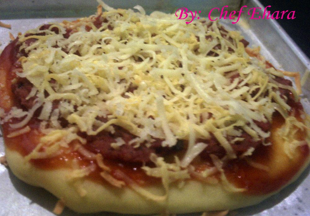 cara bikin pizza