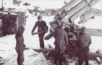 Cm flak 36 di jerman musim dingin tahun 1942-43