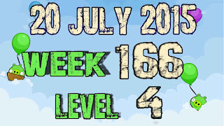 Angry Birds Friends Tournament level 4 Week 166