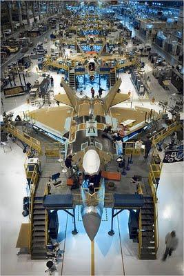 Pembuatan F-22 Raptor
