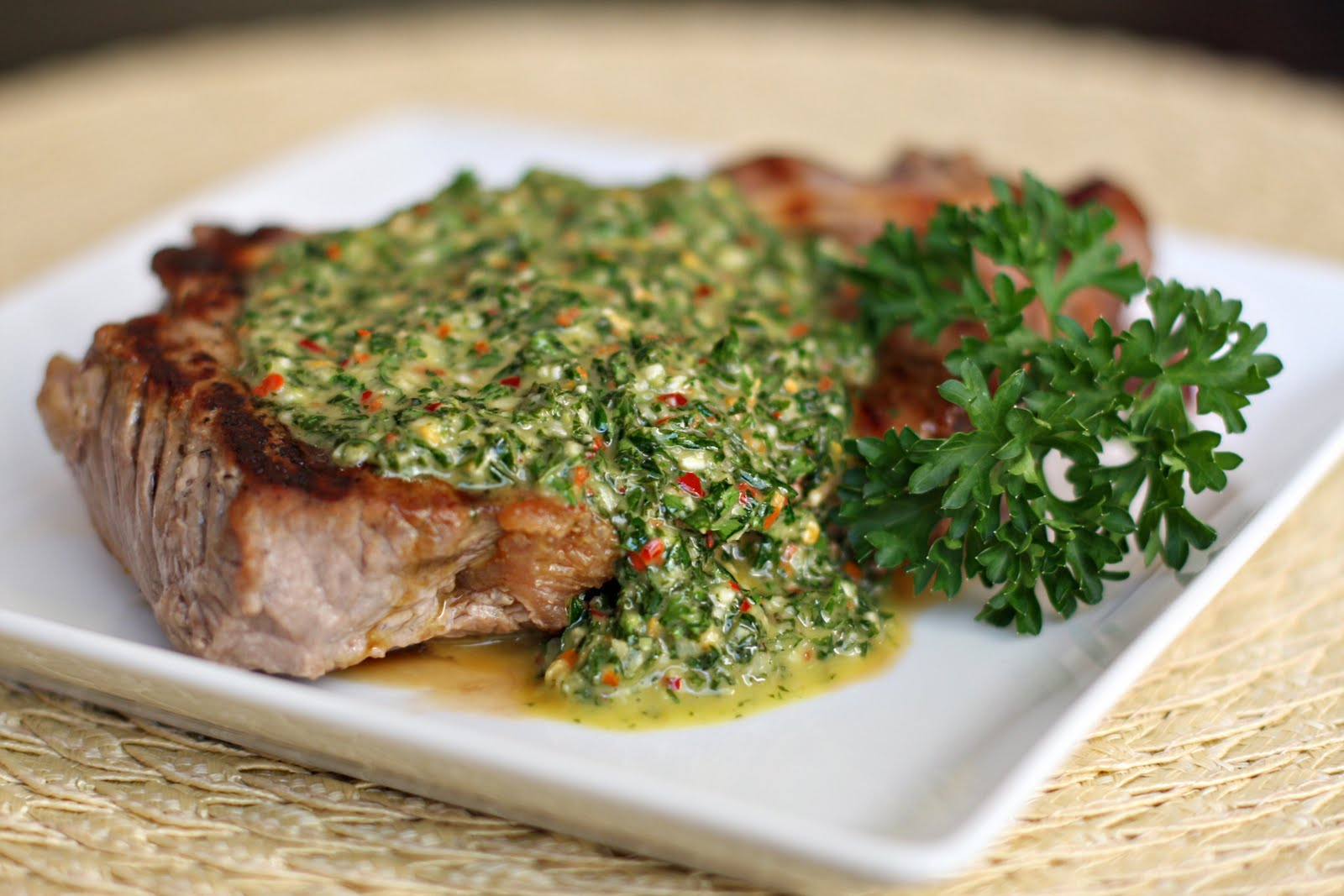 PARSLEY CHIMICHURRI SAUCE