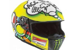 Cerita Di Balik Desain Helm Valentino Rossi Dari 2011 Sampai 2015