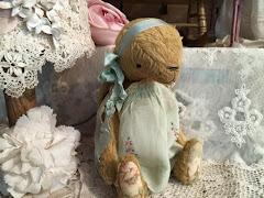 Sweet Vintage Bunny Girl