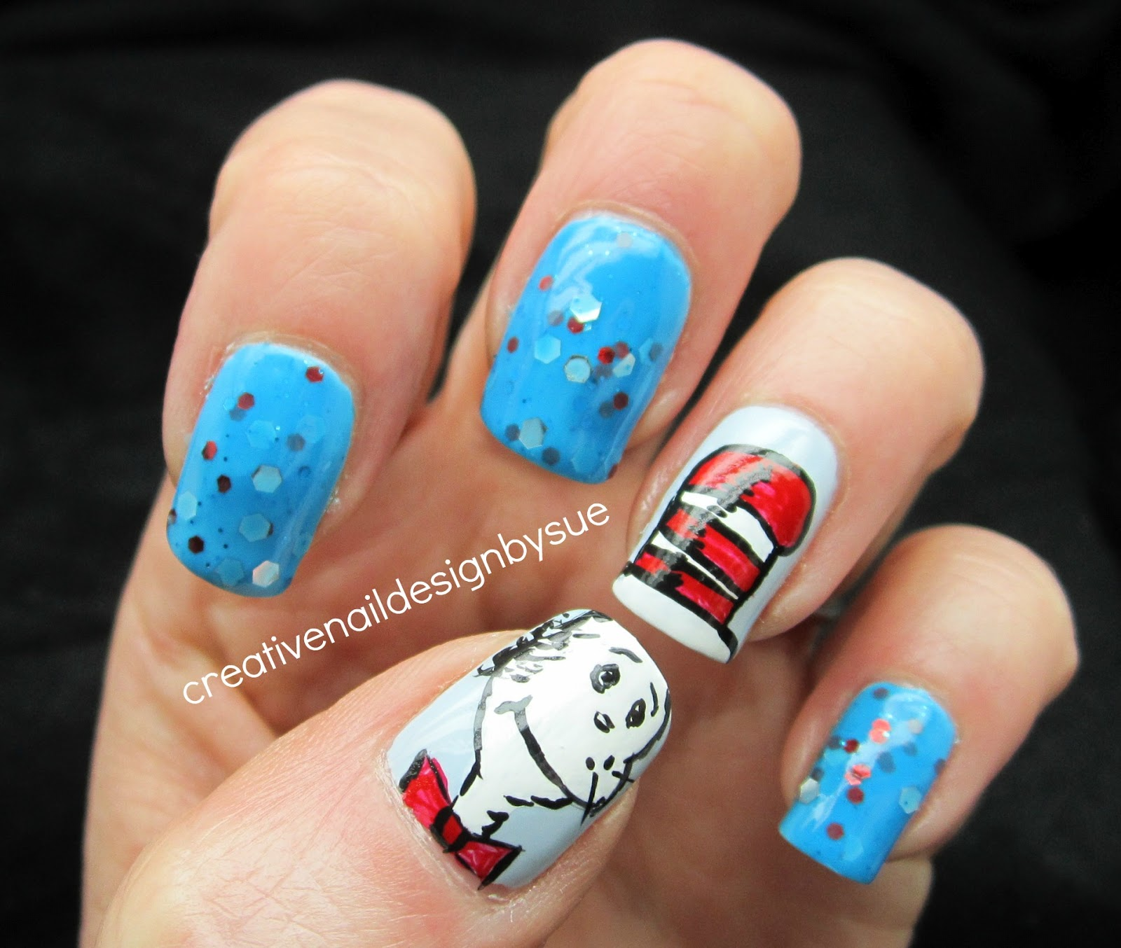 Creative Nail Design By Sue Whimsical Ideas By Pam Seuss
