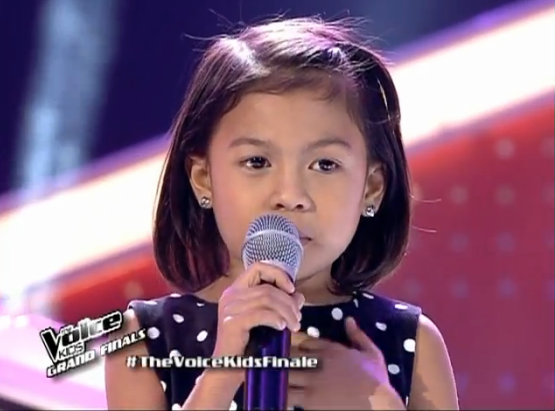 Lyca Gairanod sings 'Basang-basa sa Ulan' on The Voice Kids' PH Grand Finals