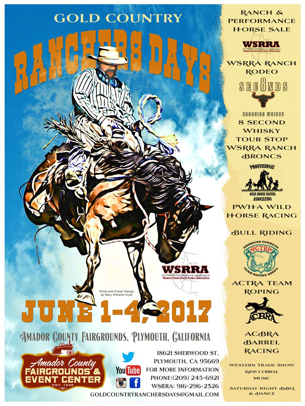 Gold Country Ranchers Days - June 1-4, 2017