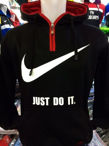 Jual jaket hoodie Nike Just Do It warna hitam terbaru musim 2015/2016