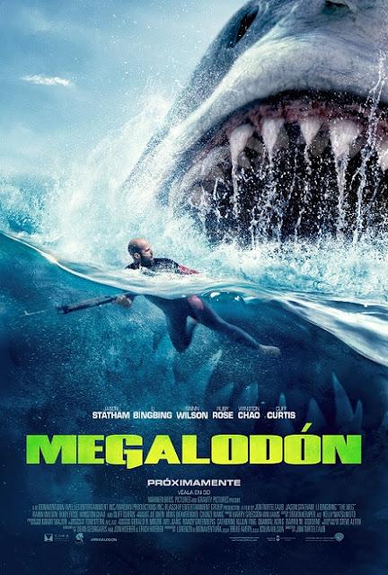 The Meg (Megalodón) (2018) 720p y 1080p HDRip mkv Dual Audio