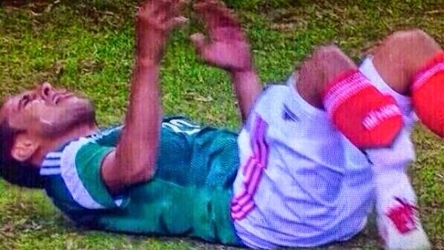 اصابة مونتيس و كاستيللو المروعة