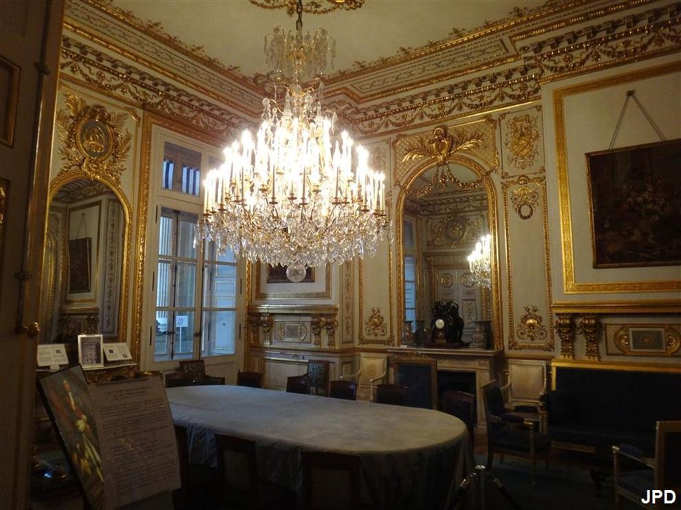 Paris bise art h tel de la marine le salon - Le salon de la photo ...