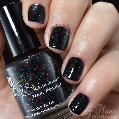 KBShimmer Dark and Twisty Swatch