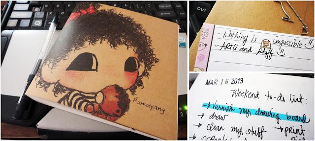 Art Li and Stuff - Where I write ~ My notebooks