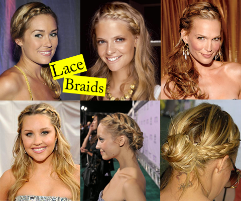 Lace Braids hairstyle