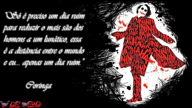 Imagens De Coringa Com Frase