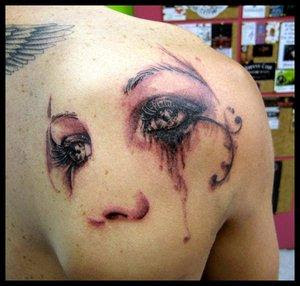 Face Design body tattoo-Best Collection tattoos design-tattoos ideas
