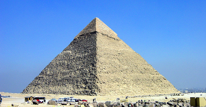 Egypt Civilization Pyramid Of Khafre In Egypt