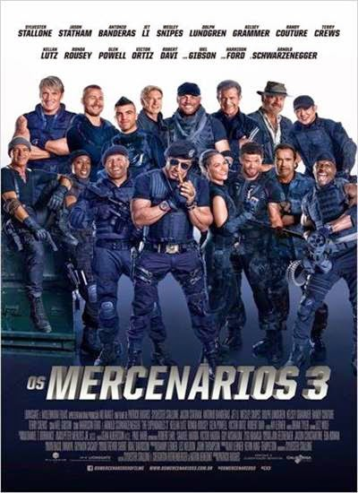 Download Os Mercenários 3 AVI Dual Áudio + RMVB Dublado Torrent