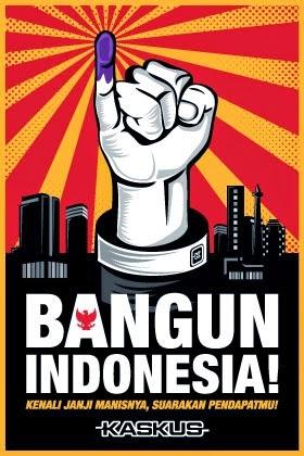 Poster Pemilu 2014 Kaskus