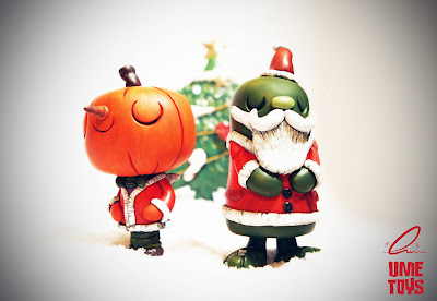 Christmas Edition Hugo Shortpants & Martin Longbottom Resin Figures by UME Toys