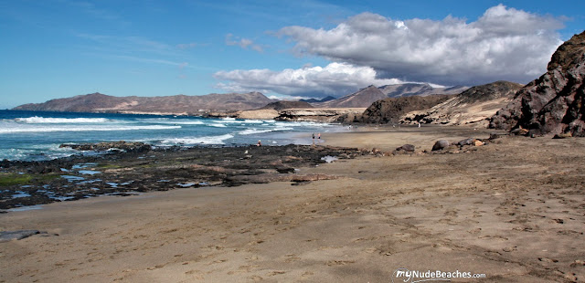 El Viejo Rey nude beach (Fuerteventura, Canary Islands, Spain)
