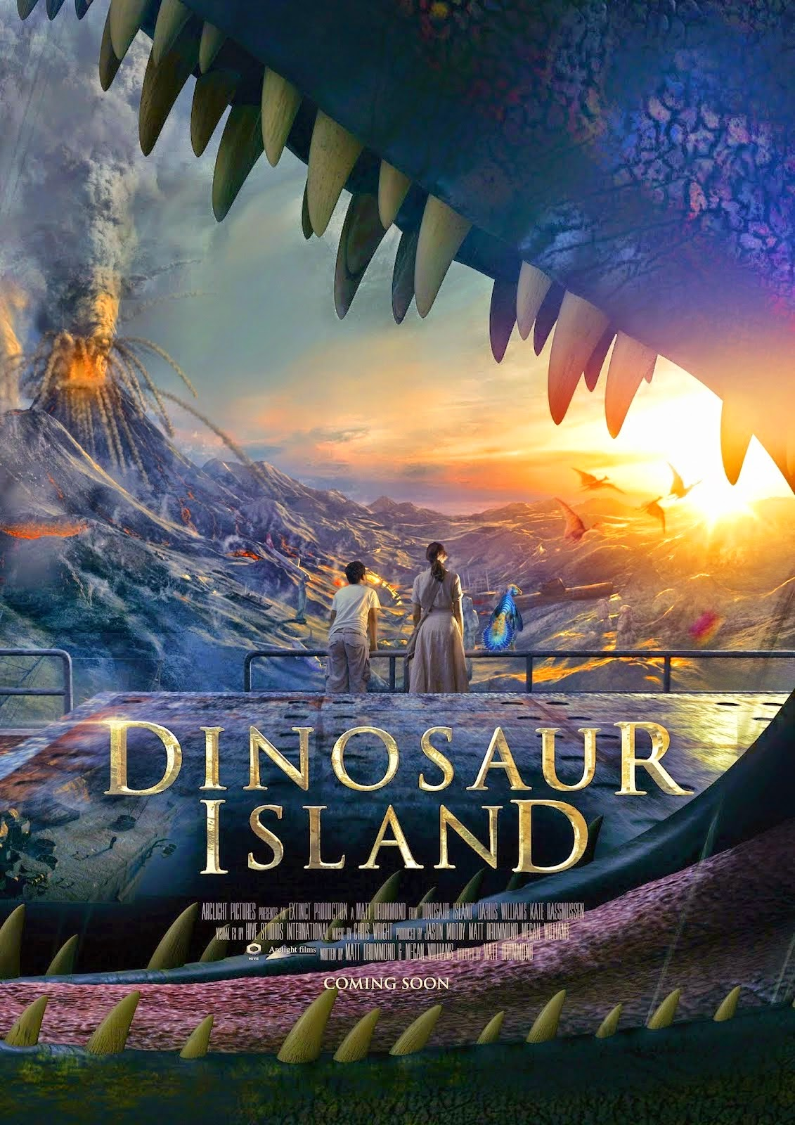 Ilha dos Dinossauros – Dublado (2014)