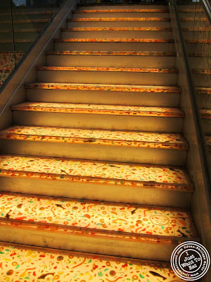Image of Stairwell to Candy Heaven at Dylan's Candy Bar in NYC, New York