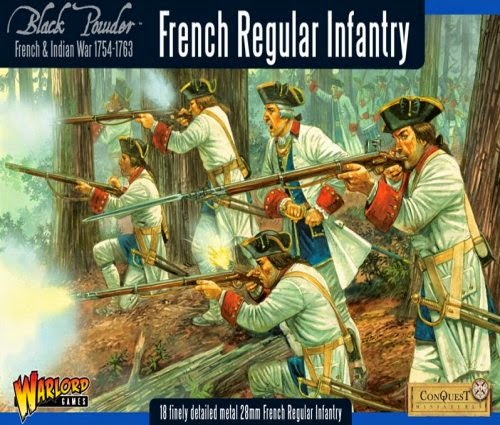 Painting French Indian War French