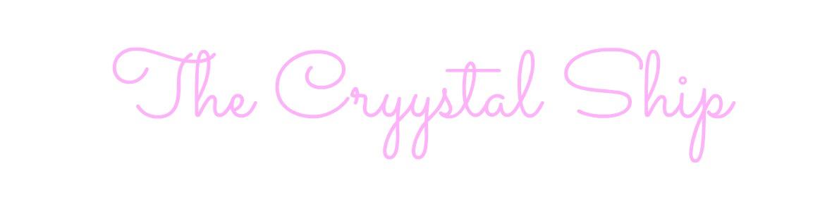 the cryystal ship