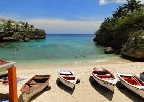 stranden op curacao