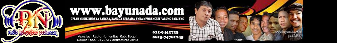 Bayu Nada FM 95.60 Mhz