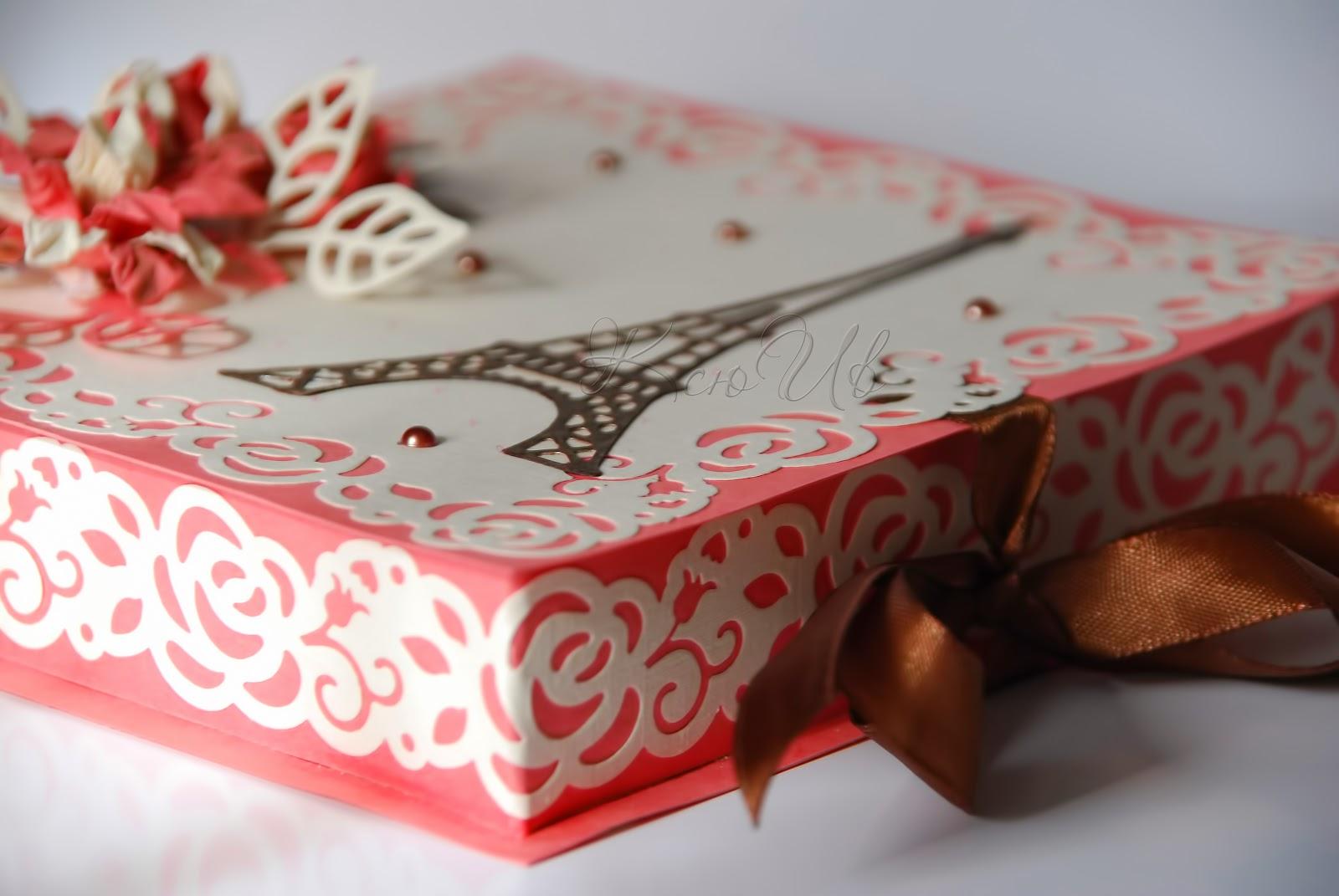 Коробочка для денежного подарка 44