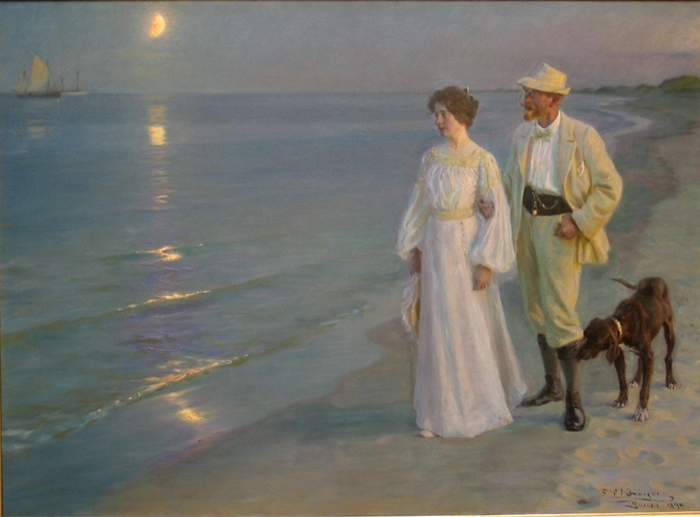 Peder Severin Krøyer 1851-1909 | Norwegian-born Danish Impressionist painter | Plein-air painter