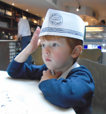 Children's menu Pizza Express